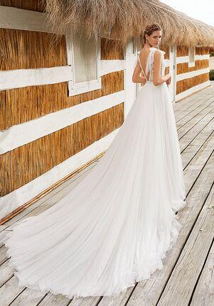 Aire Barcelona VEGA Sheath Wedding Dress