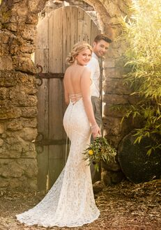 Essense of Australia D2467 Sheath Wedding Dress