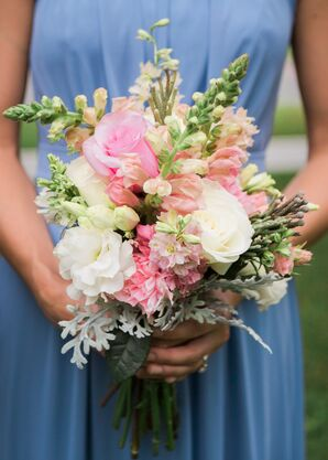 Snapdragon Bouquet With Roses