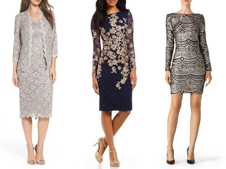 31 Elegant Wedding Guest Dresses With Sleeves