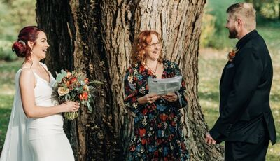 Kathryn Blume, Vermont Wedding Officiant