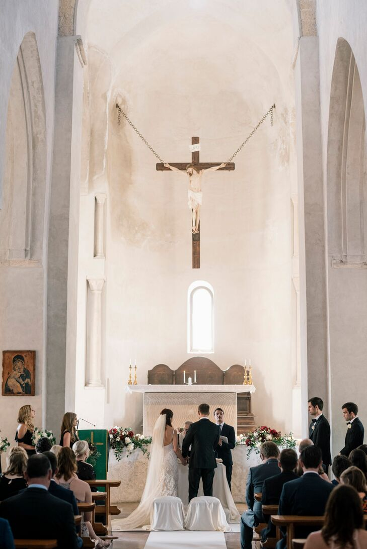 Traditional Catholic Ceremony at Villa Cimbrone