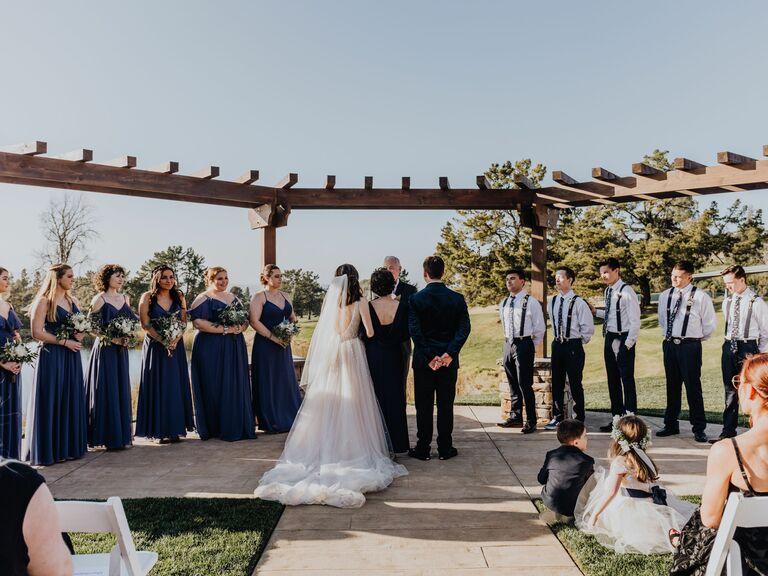 Wedding venue in Walnut Creek, California.
