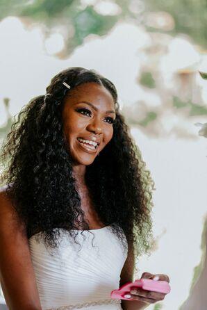 Bride at Wedding in Nashville, Tennessee