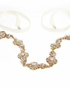 MEG Jewelry Opal headband and necklace Wedding Necklace photo
