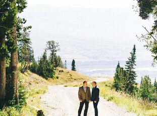 When Brent Humphrey (50 and a chief financial officer) and Corey Benedict (53 and a district manager) decided to marry, they immediately thought of Ja