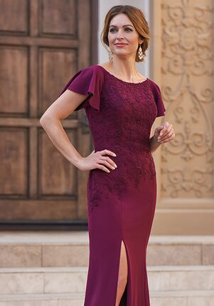 Jade Couture Mother of the Bride by Jasmine K208054 Purple Mother Of The Bride Dress