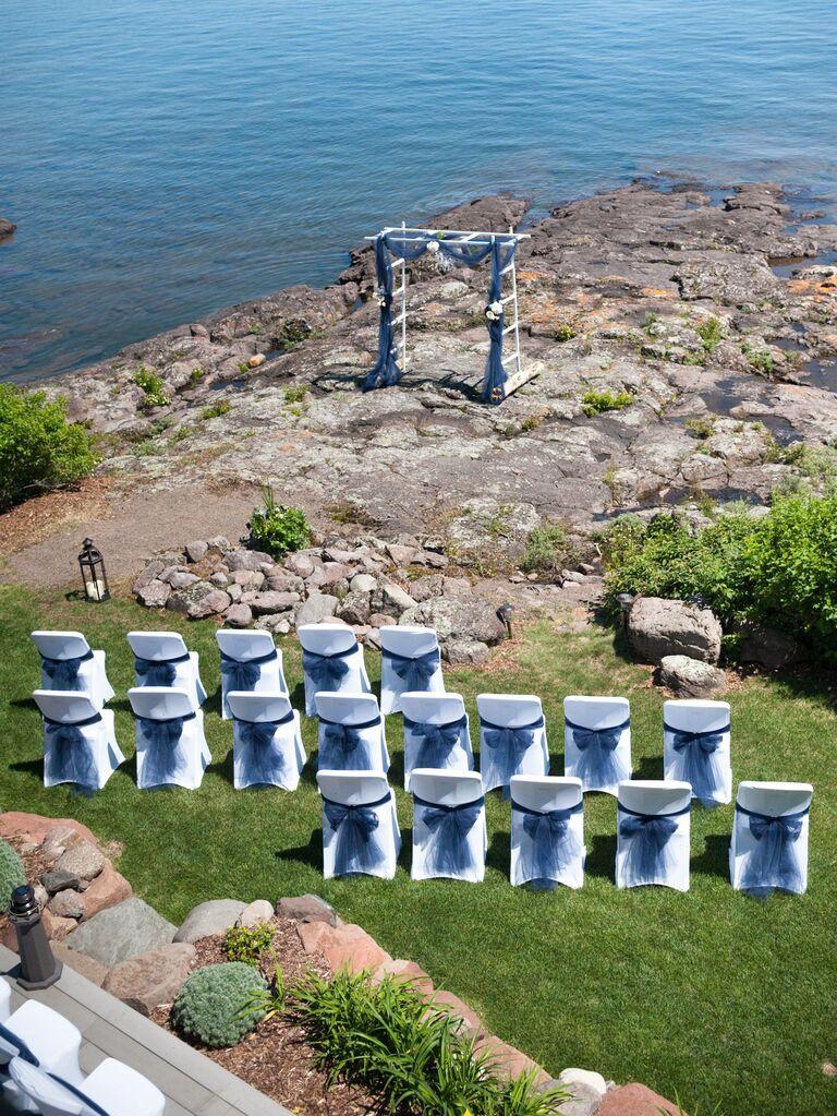 unique ceremony seating ideas