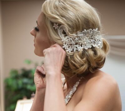 Artistic Wedding Hair & Make-Up Design