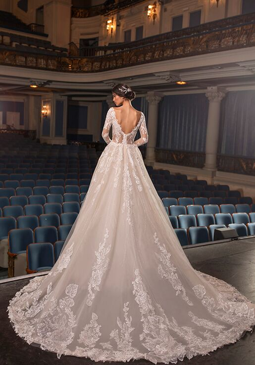 PRONOVIAS PRIVÉE CRAWFORD Ball Gown Wedding Dress