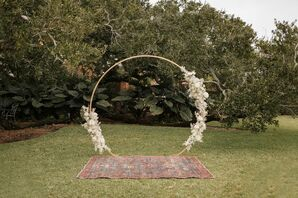 Wedding Arch at The Cummer Museum of Art & Gardens in Jacksonville, Florida