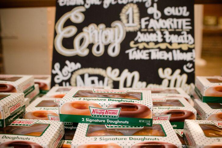 Krispy Kreme Personal Donut Favors