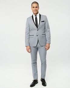 LE CHÂTEAU Wedding Boutique Tuxedos MENSWEAR_361375_910 Grey Tuxedo