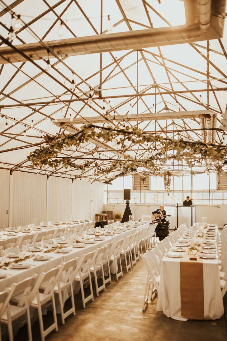 Bohemian Greenhouse Reception at Goldner Walsh in  Pontiac, Michigan