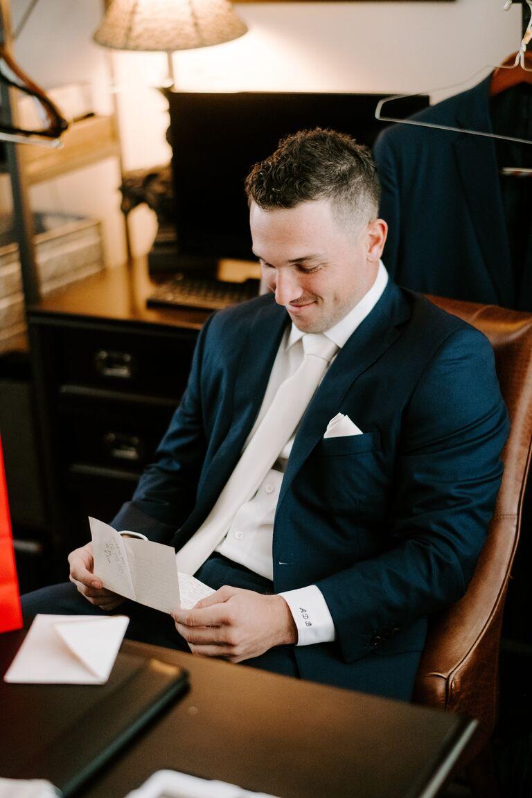 alex bregman wedding reads letter