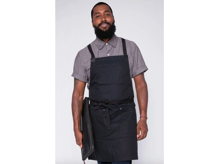Long-distance dad gift apron