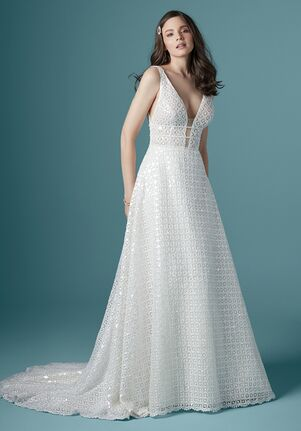 Maggie Sottero TOWNSEND A-Line Wedding Dress