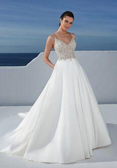 Justin Alexander Blanche Ball Gown Wedding Dress