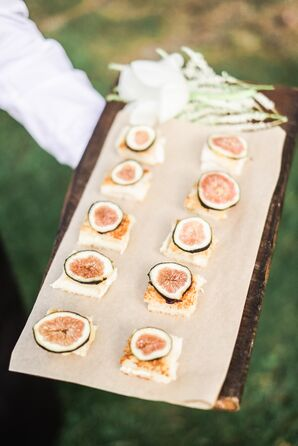Fresh Fig Passed Appetizers