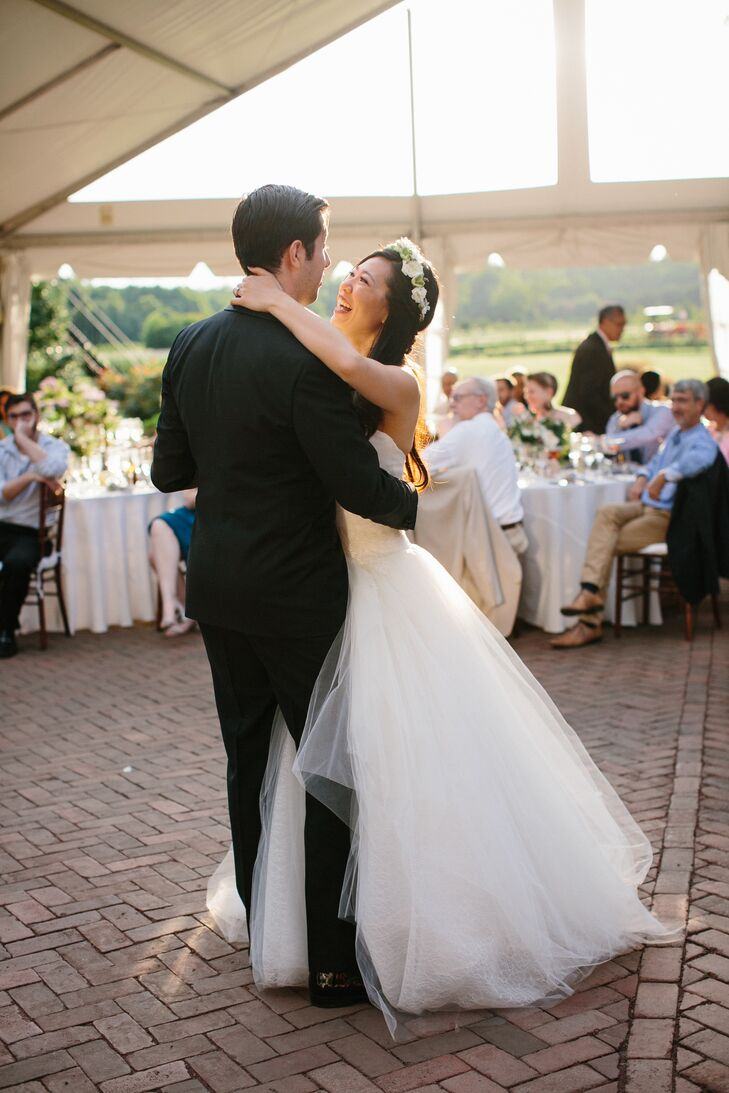 First Dance at the Inn at Fernbook Farms in Chesterfield, New Jersey