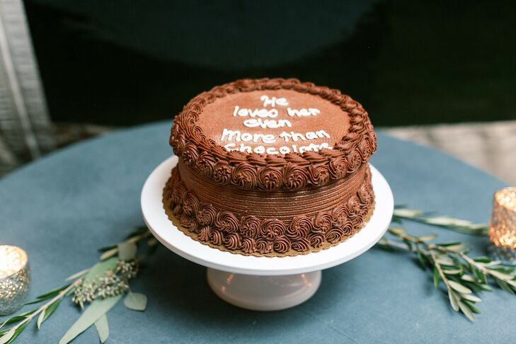 Chocolate Single-Tier Cake