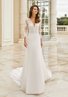 Aire Barcelona IDRIS Sheath Wedding Dress