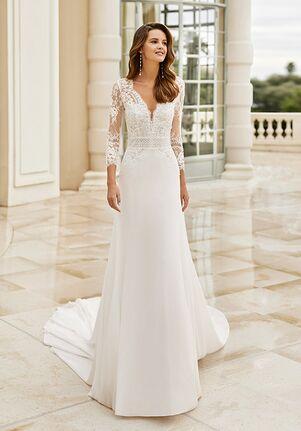 Aire Barcelona IDRIS Sheath Wedding Dress