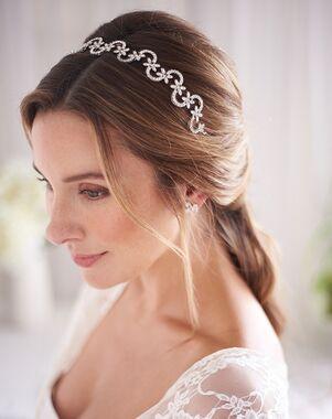 Dareth Colburn Ariel Opal Wedding Headband (TI-3376) Headband