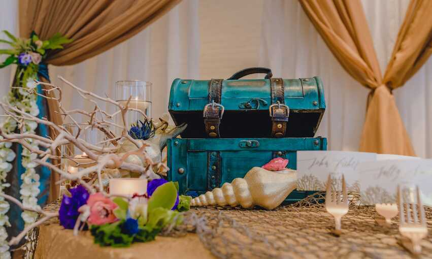 Pirates and Mermaids party themed inspiration and ideas