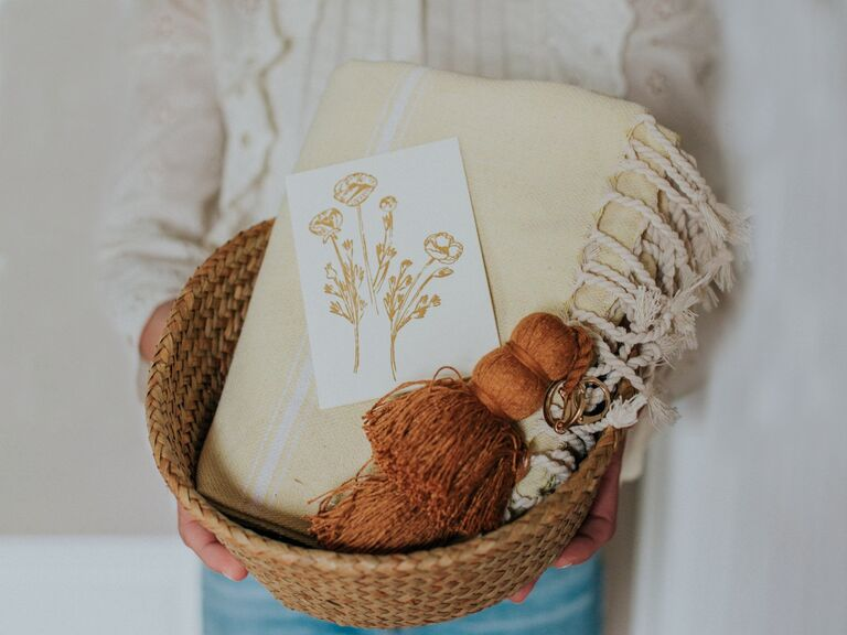 Luxury gift basket for mother-in-law