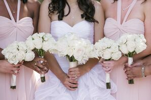 Ivory Spray Rose Bouquets
