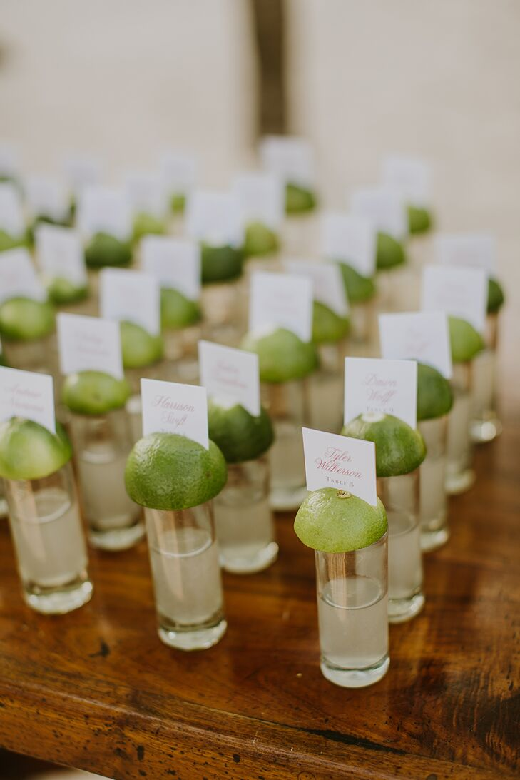 Margarita Shot Escort Cards