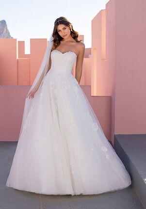 WHITE ONE ESSENTIALS NETTLE A-Line Wedding Dress