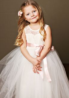 FATTIEPIE elizabeth ivory Flower Girl Dress