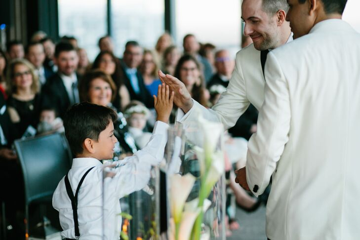 Modern Same-Sex Ceremony at The East Miami