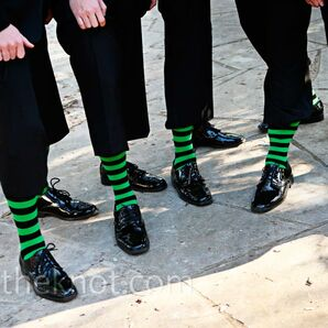 Black and Green Formalwear
