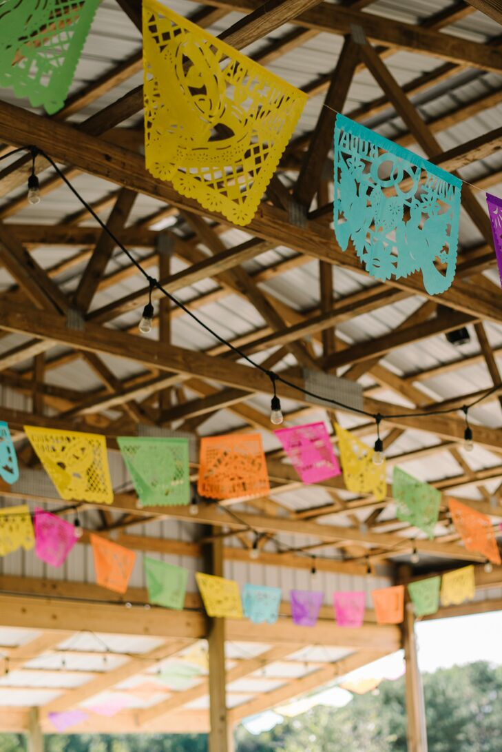 Colorful Papel Picado Streamers