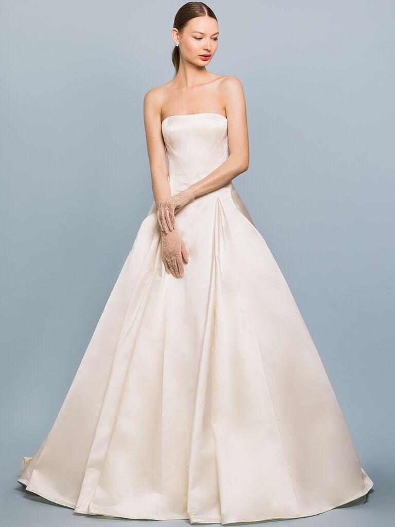 EDEM Demi Couture strapless ballgown