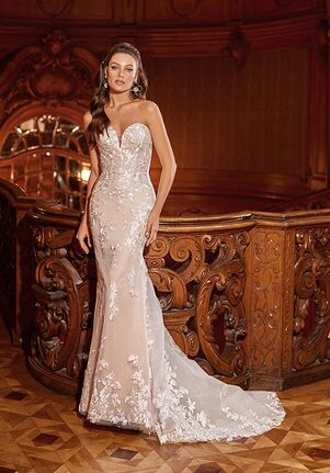 Moonlight Collection J6822 Mermaid Wedding Dress