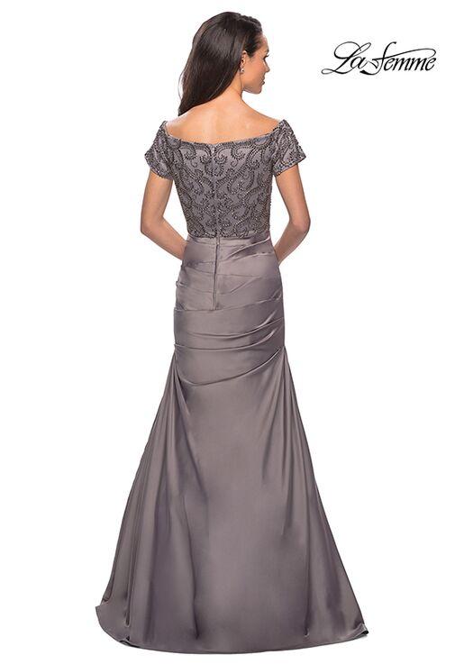 La Femme Evening 25996 Champagne Mother Of The Bride Dress
