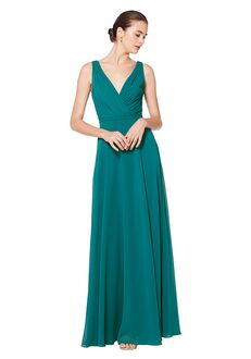 Bill Levkoff 7078 V-Neck Bridesmaid Dress