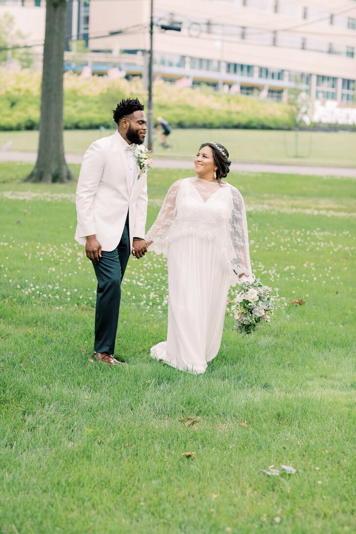 Bride and Groom Portraits in Cherry Hill, New Jersey