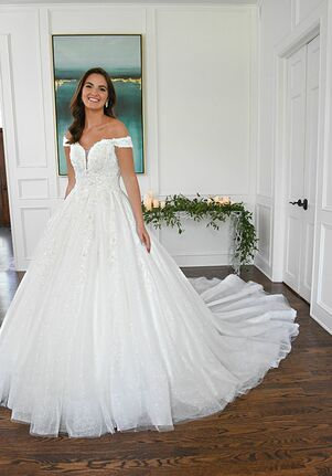 Essense of Australia D3245 A-Line Wedding Dress