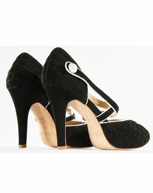 Hey Lady Shoes Coco Puffs Black Shoe