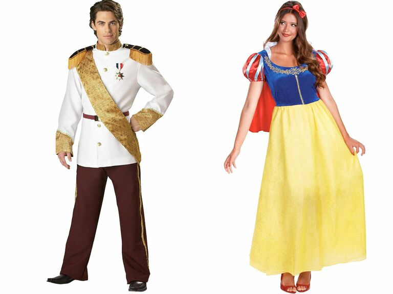 Disney couple costume ideas Snow White and Prince Charming