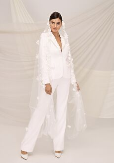 Justin Alexander Signature Uptown Pantsuit Wedding Dress