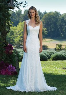 Sincerity Bridal 3885 Sheath Wedding Dress