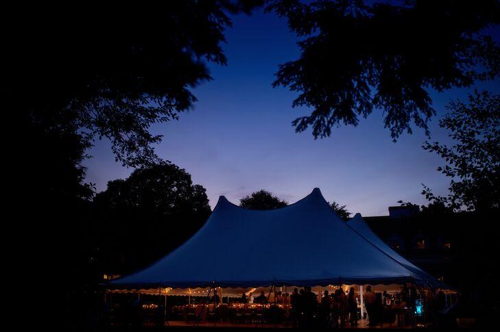 Woodstock Inn Tented Wedding Reception