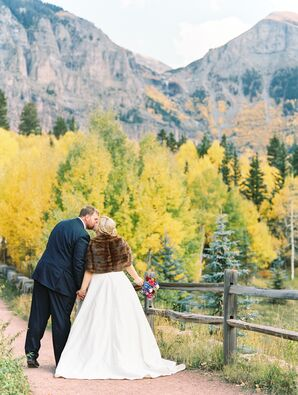 Scenic Colorado Mountaintop Wedding