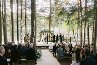 "New York's Cedar Lakes Estate checked the many boxes that Chelsea and Ross had when it came to the perfect wedding venue. The couple wanted ""a full we"